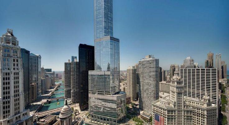 HOTEL|アメリカ・シカゴのホテル>92階建てのランドマーク的ホテル>トランプ インターナショナル ホテル & タワー シカゴ(Trump International Hotel & Tower Chicago)