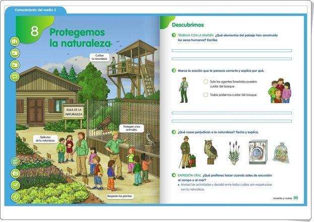 """Unidad 6 de Ciencias de la Naturaleza de 2º de Primaria: """"Protegemos las Naturaleza"""""""