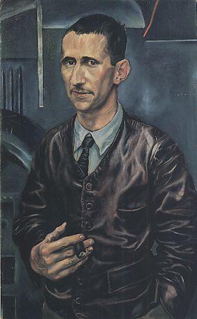 Brecht by Otto Dix, 1926.