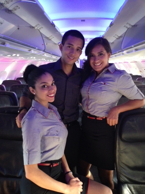 Our new uniforms look even better under moodlighting  Virgin America  Pinterest  Virgin