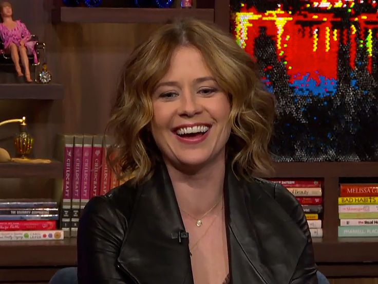Jim and Pam Forever! Jenna Fischer Says She and John Krasinski Were 'Genuinely in Love' While Filming The Office  The Office, Watch What Happens Live, People Picks, TV News, Jenna Fischer, John Krasinski