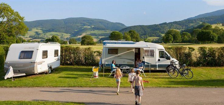 Camping in Kirchzarten bij Freiburg (Dreisamtal in het Zwarte Woud)