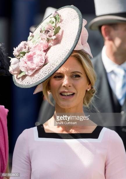 Emilia Fox attends Derby day at Epsom Derby festival at Epsom Downs on June 3 2017 in Epsom England