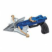"Description #53662 Add this Shark Bow to our #31576 Blue Ranger Boy's Costume. Includes:10"" Toy Weapon"