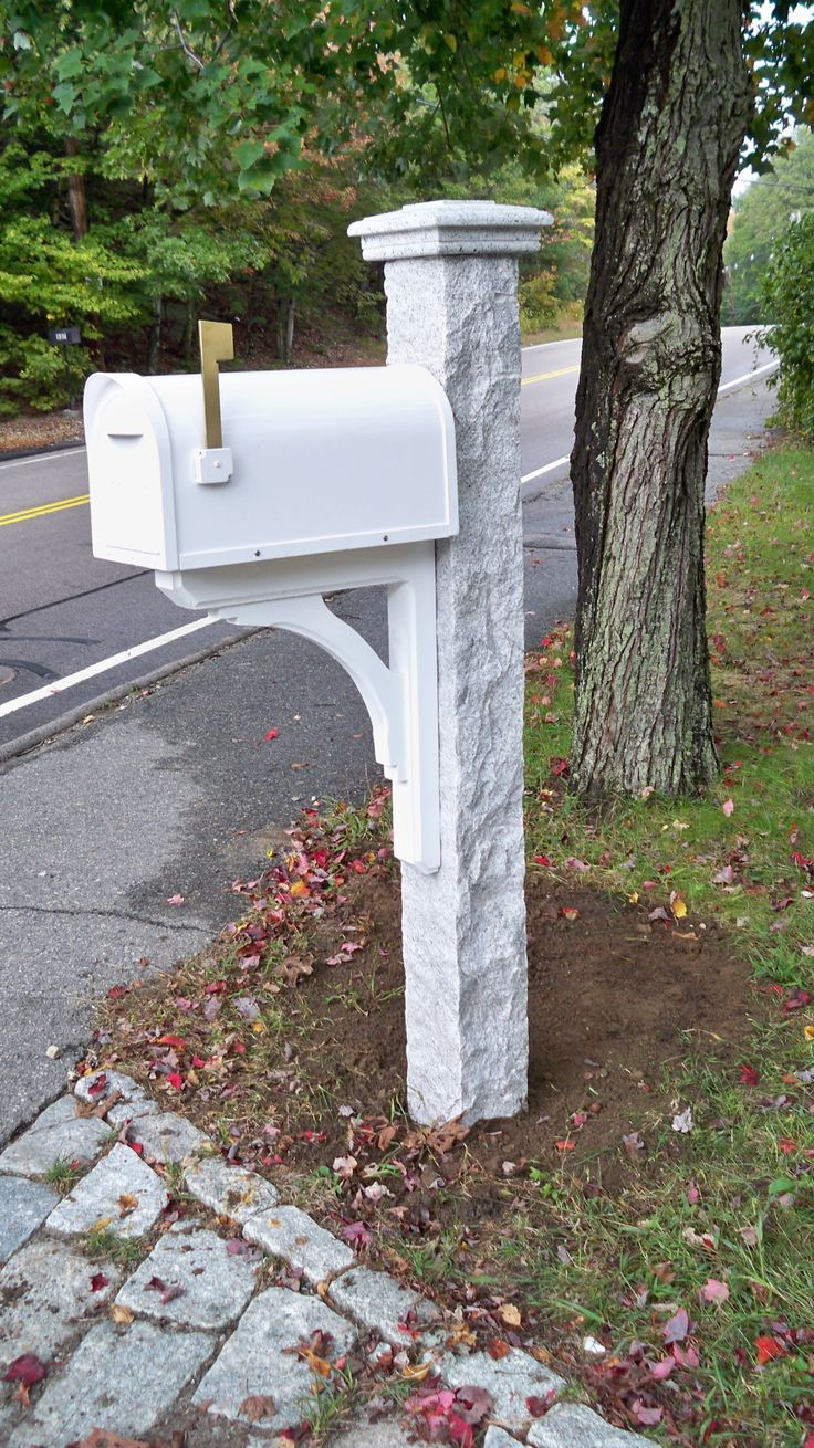 17 Best Images About Granite Mailbox Posts Amp Accessories