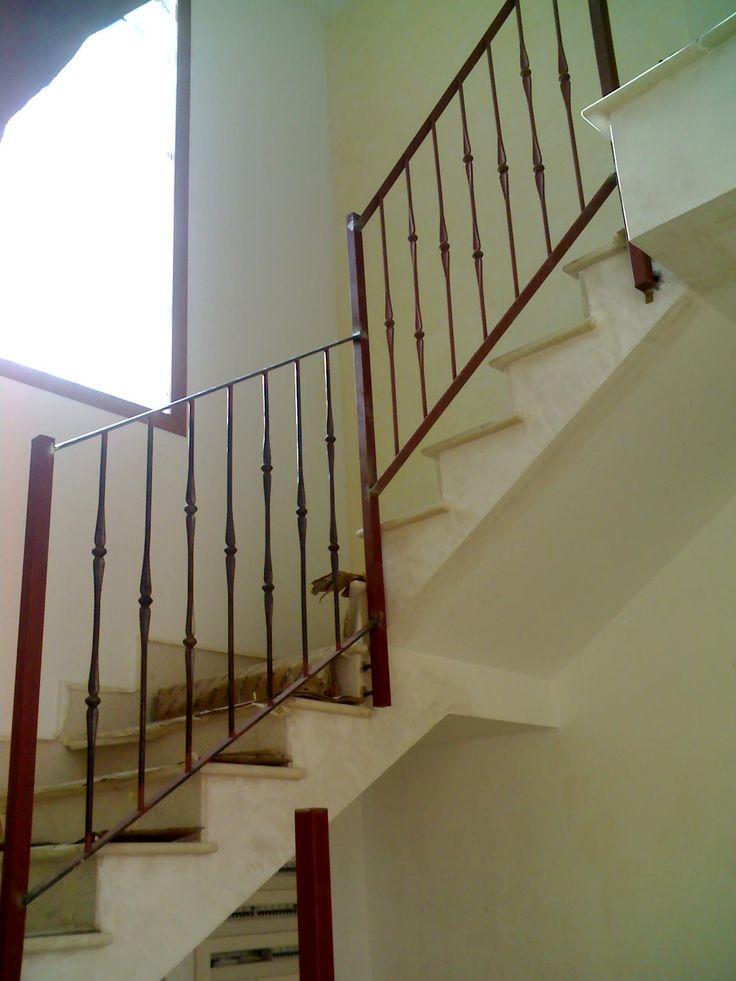 17 mejores ideas sobre barandillas de hierro forjado en - Barandilla de escalera ...