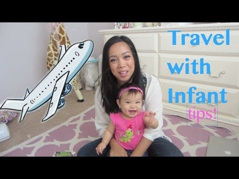 ▶ Traveling with an Infant on a Plane TIPS! - itsMommysLife - YouTube