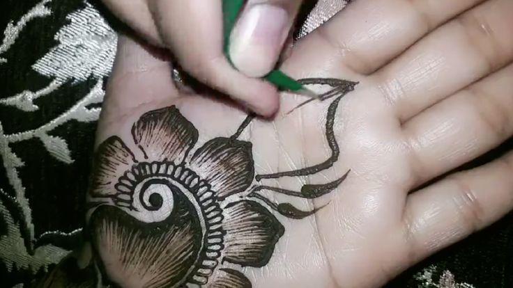 أجمل نقش حناء سهلة Beautiful Drawing With Henna Henna Drawings Turquoise Ring Turquoise
