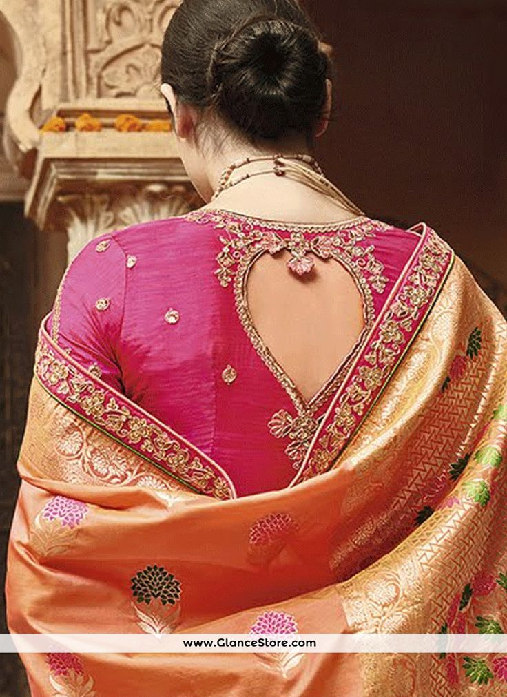 Blissful Weaving Work Traditional Designer Saree