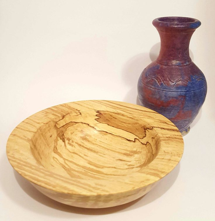 Assorted bowls in spalted beech by OakWoodIreland on Etsy