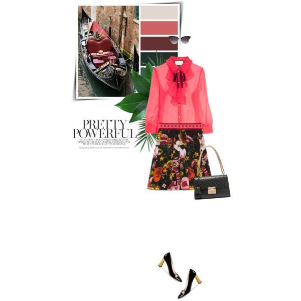 Fall Trend: Necktie Blouse by sophiek82 on Polyvore featuring Gucci and Nika
