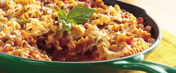 No need to heat the oven—this easy lasagna can be made right on your stovetop.