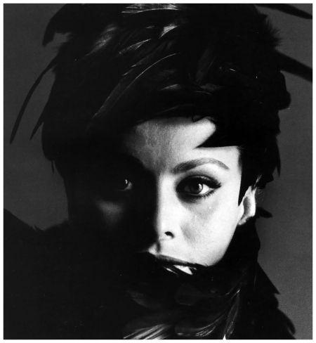Sophia Loren, photo by Bert Stern, Vogue, November 1,1962