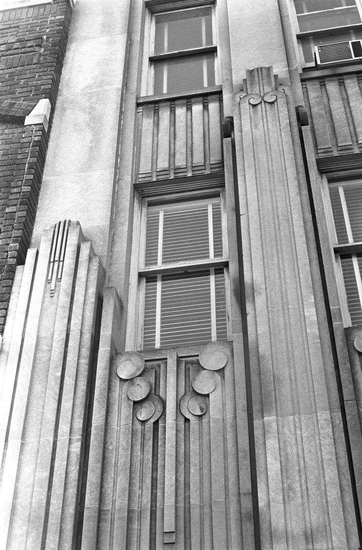 Art deco style architecture - Art Deco Architectural Detail
