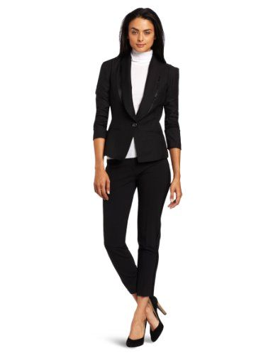 aryn K Women's Tuxedo Jacket - List price: $114.00 Price: $62.68 Saving: $51.32 (45%) + Free Shipping