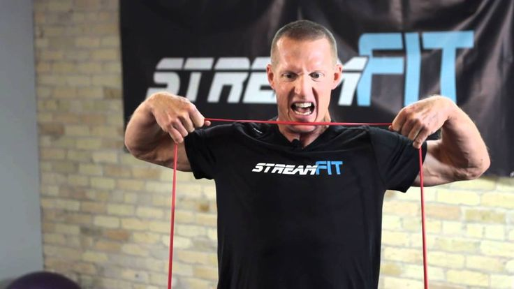StreamFIT Minute: Upper Body Ripped Shoulders and Traps Workout with Dav...