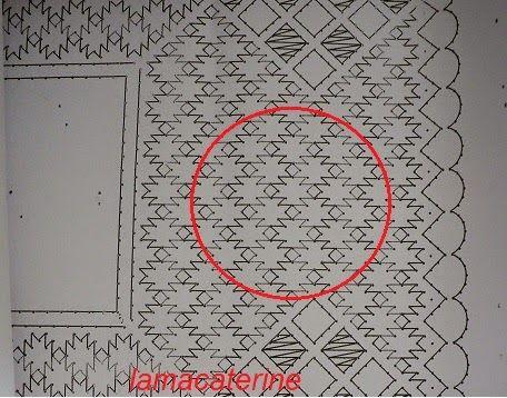 El punto de mosaico no es uno de los puntos mas conocidos del encaje de bolillos tradicional, al menos entre las encajeras que conozco, a p...