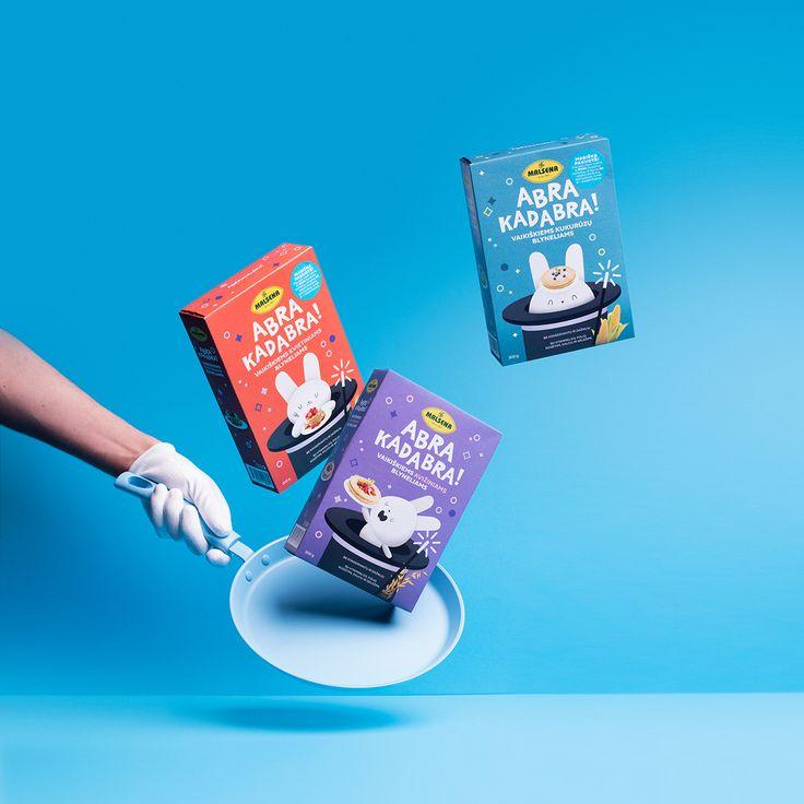 ABRA KADABRA is Bringing Kid-Friendly Magic To Breakfast — The Dieline | Packaging & Branding Design & Innovation News