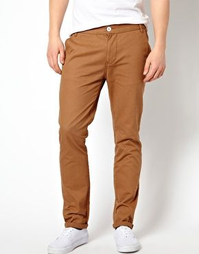 Khakis P2:   ...In fact, there's nothing that will make you look short & squat like a pair of baggy, pleated khakis.  Also, the biggest mistake guys make is dressing khakis up–big fashion foul! Khakis are casual, and never forget it. If you choose to wear them at all, stick with shoes you'd wear with jeans. Because that's what they are. A jean alternative; nothing more, nothing less.