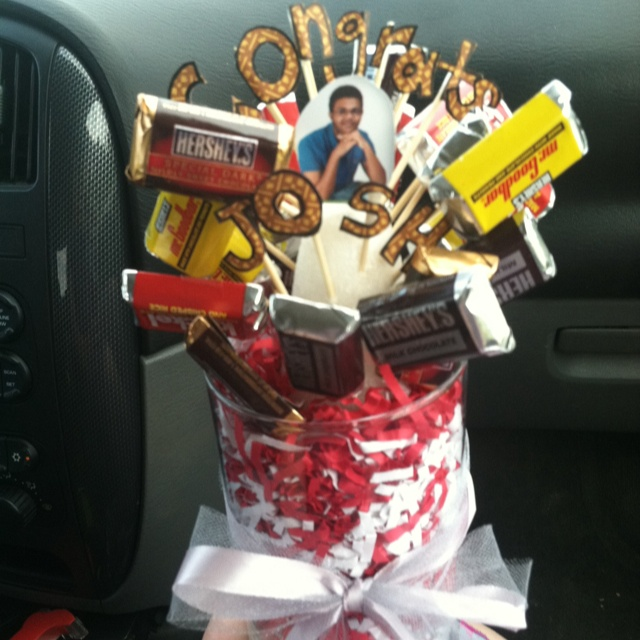 Best 25 gifts for young men ideas on pinterest christmas graduation gift for young men a candy bar bouquet cut out negle Gallery
