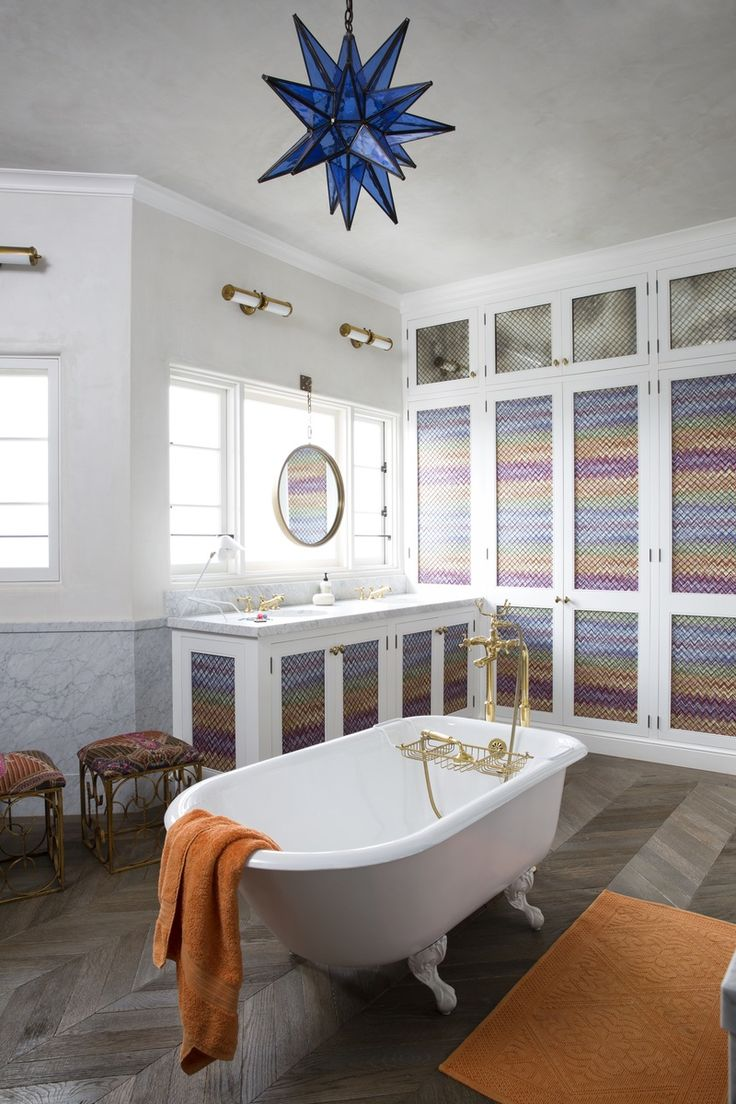 Best Images About Decorator Martyn Lawrence Bullard On - Eclectic bathroom designs