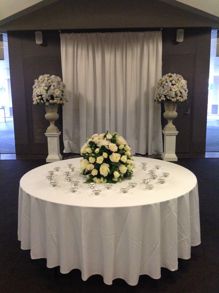 36 best organza decoration images on pinterest weddings foyer decoration of donato reception centre in adelaide houseofthebride junglespirit Choice Image