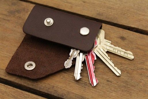 Leather keyholder KINGSLEY | keyholder | Accessories | Pure vegetable tanned leather By Pack & Smooch