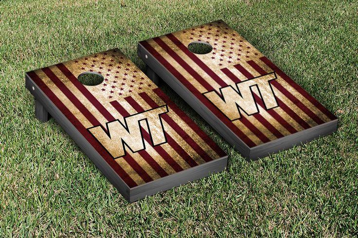 West Texas A&M University Buffs Cornhole Games