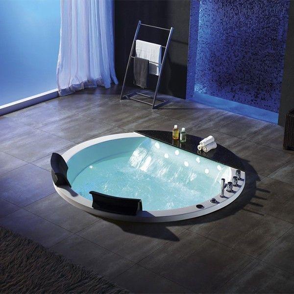 Les 77 meilleures images du tableau baignoires baln o sur for Baignoire ronde encastrable