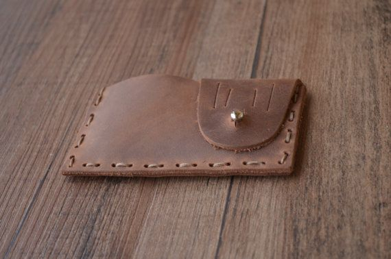 Business Card Case PERSONALIZED WALLET  Minimalist Card