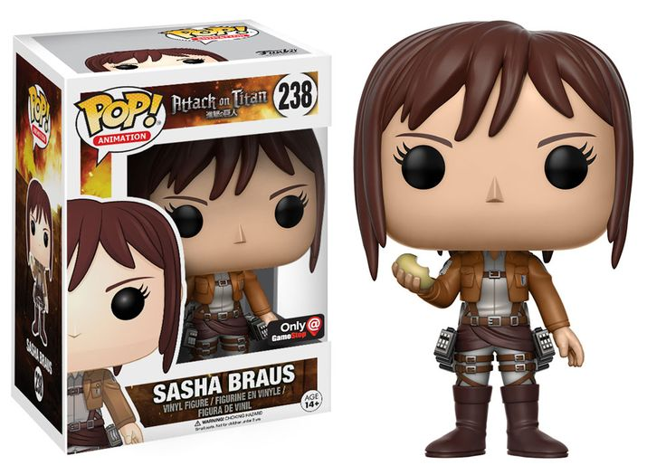 POP! Anime: Attack on Titan - Sasha Braus - Only at GameStop for Collectibles   GameStop