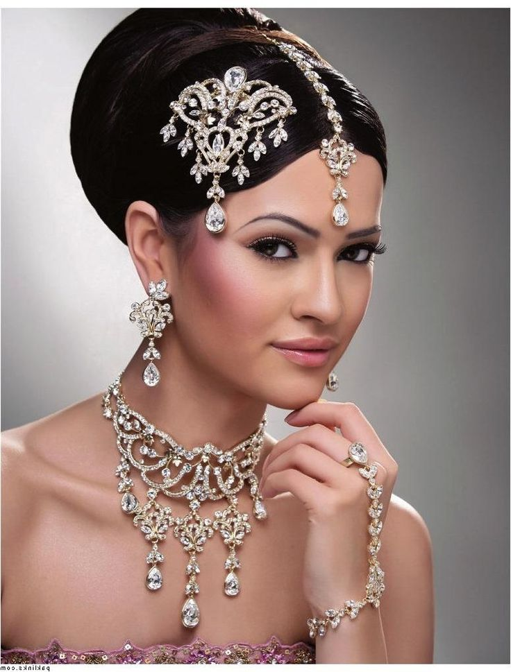 India hair styles | indian wedding hairstyle for round face 2014 indian wedding hairstyle ...