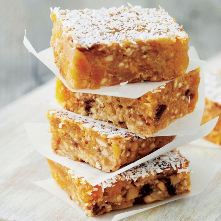 Apricot Vanilla Cashew Bars: Dried apricots are an excellent source of beta-carotene, which is good for your eyesight. | Health.com