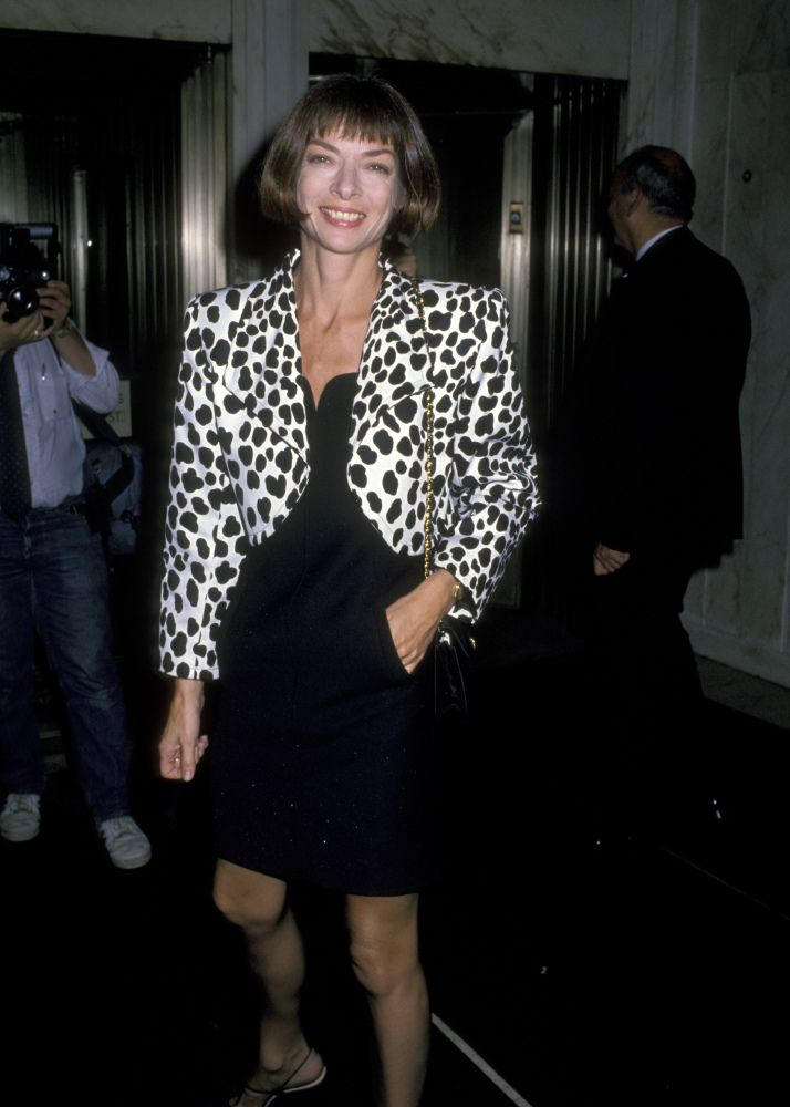 Anna Wintour in the '80s and '90s