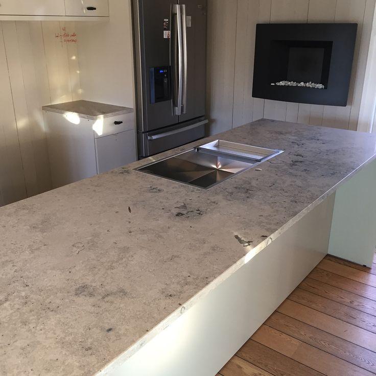 Moderne Kjøkken inspirasjon | Kalkstein Benkeplate - Modern Kitchen ideas | Design | Limestone | Countertop