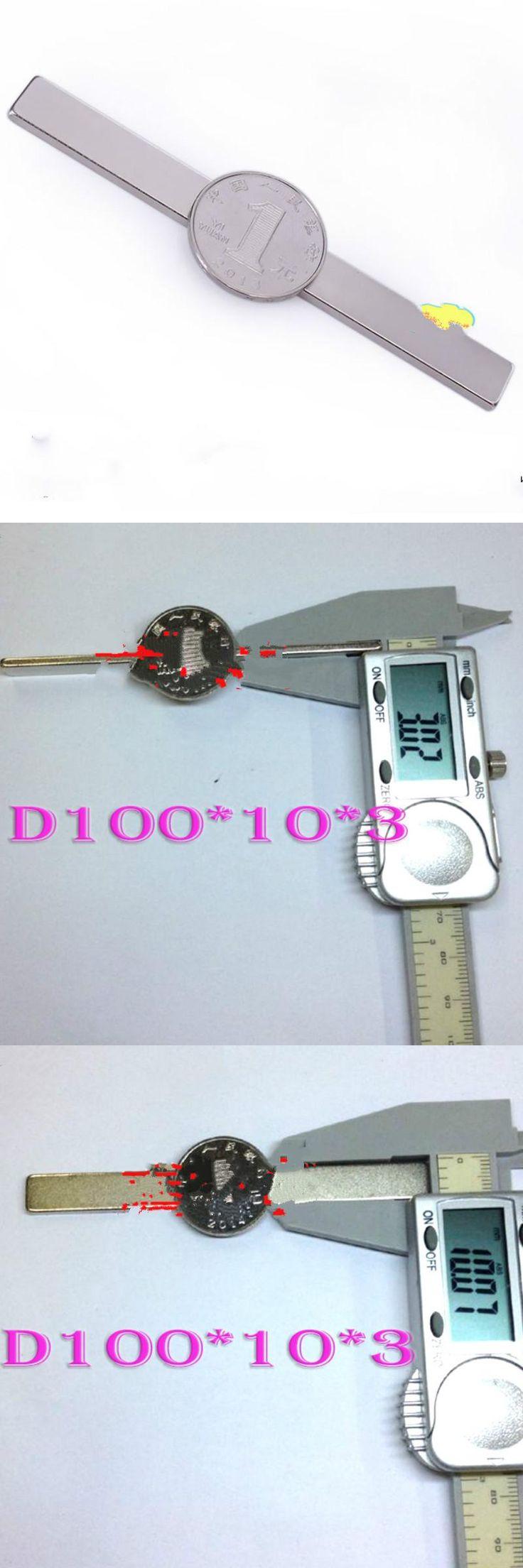 [Visit to Buy] 1pcs 100mm x 10mm x 3mm Super Powerful Rare Earth Neodymium Magnets 100*10*3mm Rectangular Strip Magnet Craft Magnetite #Advertisement