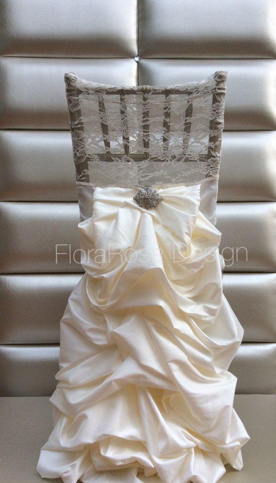 Housses de chaises, couverture de chaise de mariage, couverture de chaise de chiavari, décoration mariage, décoration de cérémonie unique,