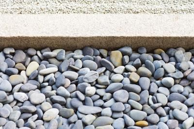 How to stop weeds from growing in rocks.