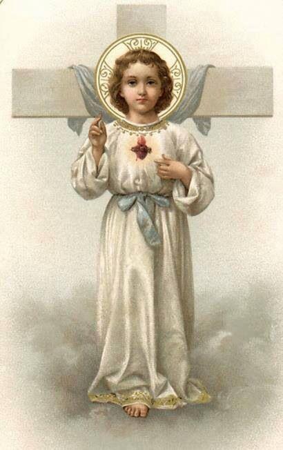 Sagrado Corazon de Cristo Niño yCruz
