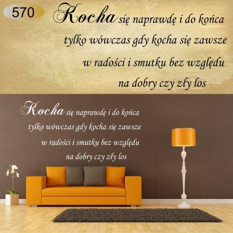 napisy cytaty naklejki na ścianę napis cytat 100 (6073783487) - Allegro.pl - Więcej niż aukcje.