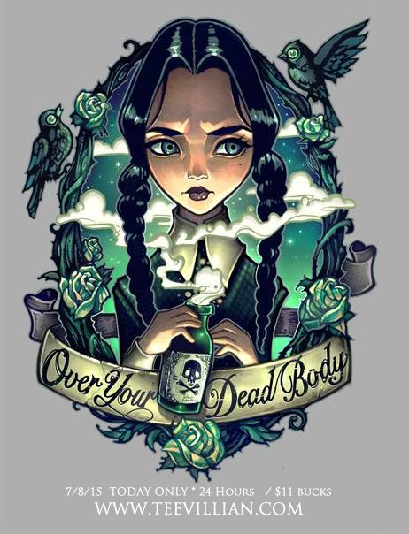 OVER MY DEAD BODY by telegrafixs.deviantart.com on @DeviantArt