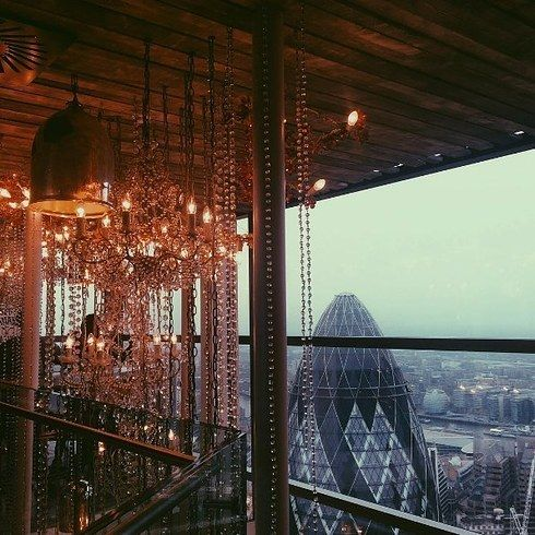 Duck & Waffle in London, United Kingdom. | 16 Once-In-A-Lifetime Restaurants Everyone Should Eat At