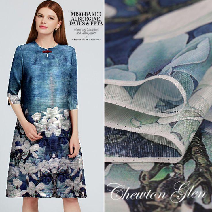 Bez zarzutu biały Lotos sukienka floral drukowane jedwabne tkaniny lniane tkaniny tekstylne tkaniny materiał do szycia 2016 odzieży 138x140 cm w New Arrival na sprzedażczerwony Kwiat wysokiej klasy druk cyfrowy jedwabiu lnianą tkaninę materiału odzieży hurtowej sze od Tkaniny na Aliexpress.com   Grupa Alibaba