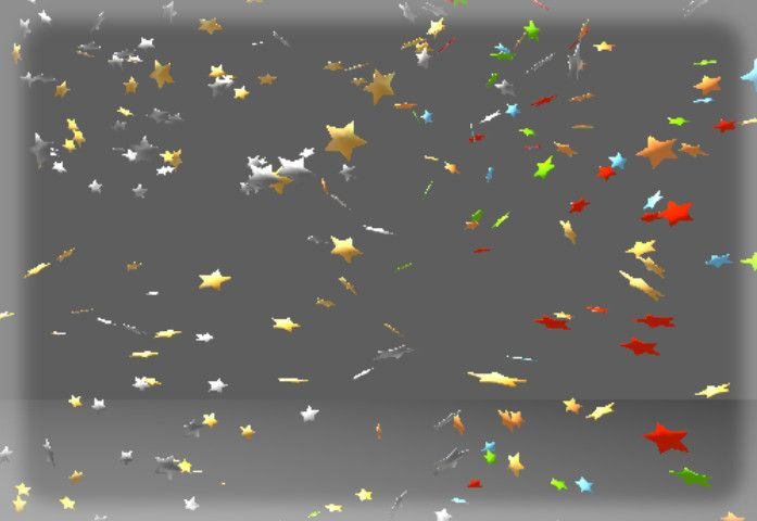 Star Particle 1 (Flat) #sponsored#3d Particle#Star#Flat