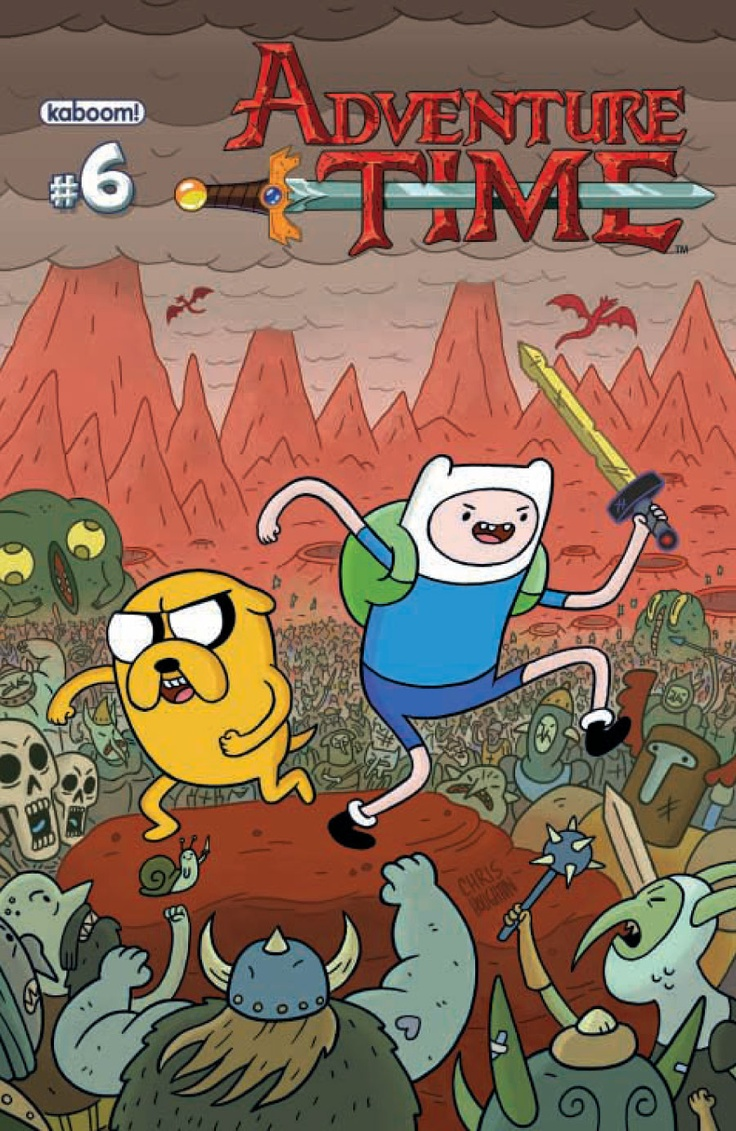 Adventure Time #6 cover A