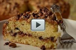 I love coffee cake! Link to a good recipe. I use yogurt instead of sour cream.