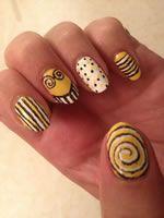 The Smiler at Alton Towers Vinylux nail art http://www.beautyguild.com/news.asp?article=2699
