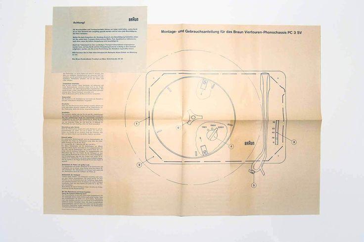 BRAUN PC3 (NEW IN BOX) - PLATTENSPIELER - Dieter Rams - 1955 - VERY RARE | Arte e antiquariato, Modernariato, Apparecchi audio e video | eBay!