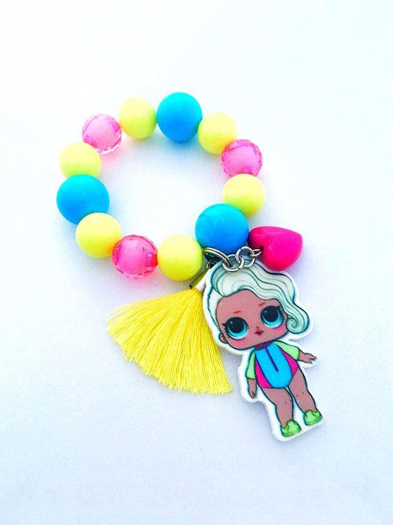 LOL Suprise Splash Queen  Personalised childrens Jewellery  gift set!