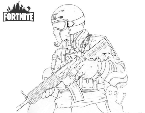 Fortnite Coloring Pages Full HD | Bear coloring pages ...